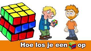 Hoe los je een Rubik's Kubus op