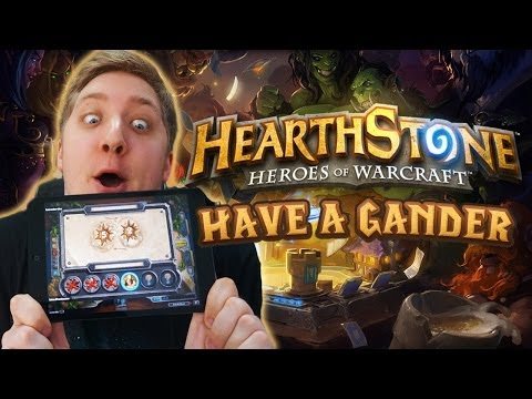 Hearthstone iOS Build - Have A Gander