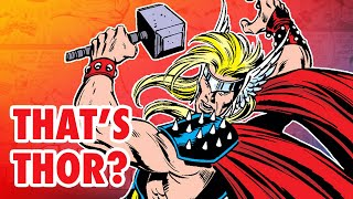 Thor's 3 WILDEST Costumes!
