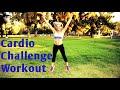 35 Minute Fat Blasting Cardio Challenge HIIT Workout