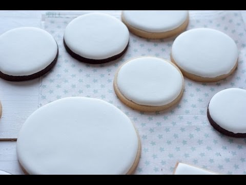 Preparar Royal Icing en Kitchen Aid, Glasa Real