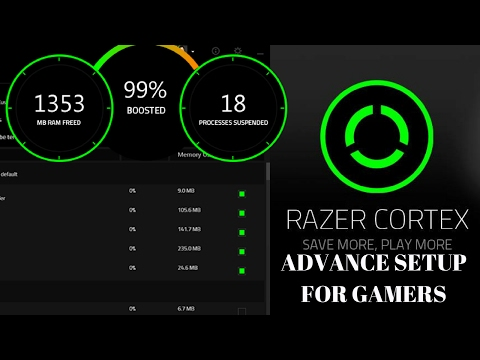 Razer Cortex Game Booster - Advance Setup For Gamers [Increase FPS]