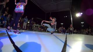 Finał Art Of Breaking Galety 2014 - Bgirl Battle: Bgirl Ari vs Bgirl AGT