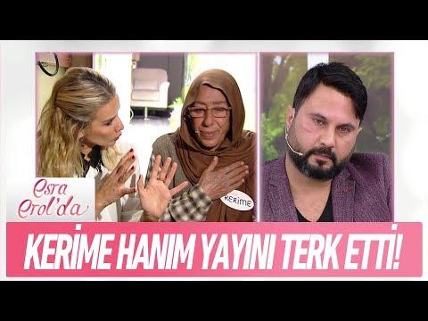 Kerime Hanım neden yayını terk etti? - Esra Erol'da 15 Aralık 2017