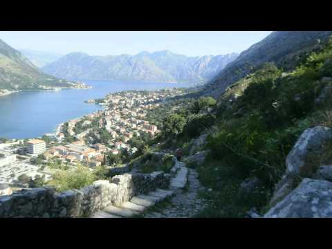 Montenegro Kotor Fortress of St John Castle Adriatic