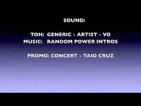 THE VOICE - DENMARK - RADIO IMAGING - GENERIC TOH - PROMO CONCERT GIVEAWAY - POWER INTROS - OCT 2010