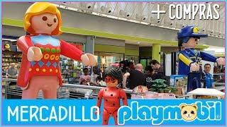 Playmobil | Visita al mercadillo de playmobil y os enseño mis compras 😍