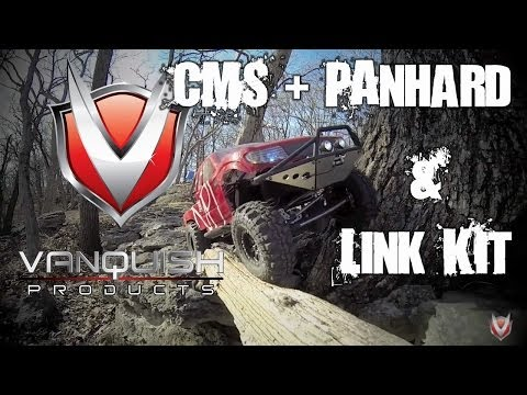 Vanquish Products 3 link. Panhard and Chassis Mounted Servo for your Axial SCX10