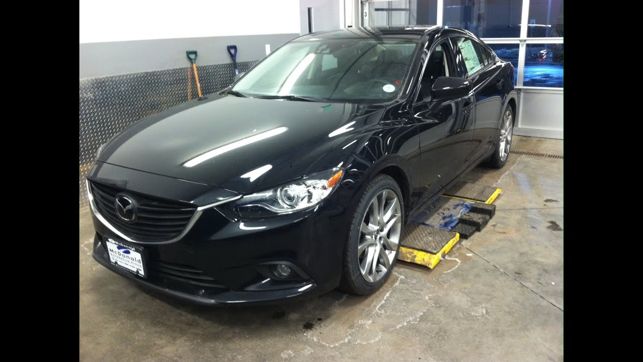 2014 mazda 6 i grand touring start up in depth tour and review youtube. Black Bedroom Furniture Sets. Home Design Ideas