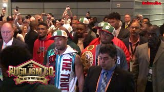 Errol Spence Jr Came Out 2 Yella Beezy & Lancaster H.S Marching Band | Mikey Garcia | Pugilism Co.