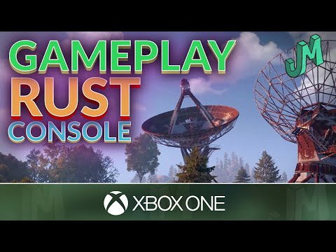 RUST Console Edition 🛢 Gameplay Footage 🎮 Xbox One X