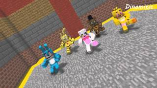 FNAF Monster School: Dance - Minecraft Animation (Five Nights At Freddy