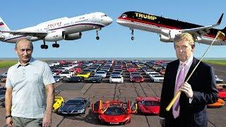 Donald Trump's Lifestyle Vs Vladimir Putin's Lifestyle ★ 2018
