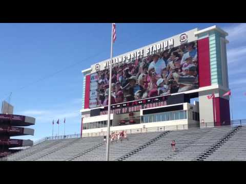 2001 South Carolina Gamecocks Football Spring Game 2013