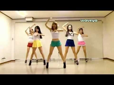 Gostosas Coreanas Dançando Gangnam Style video