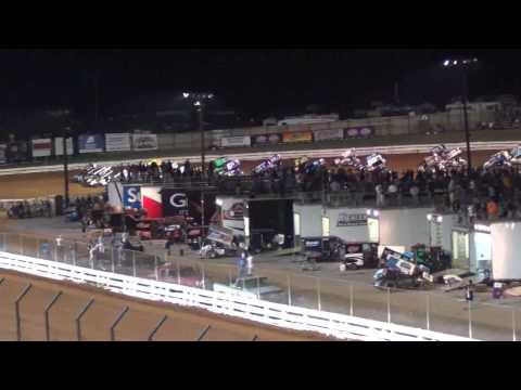 Williams Grove Speedway World of Outlaws Highlights 5-17-13