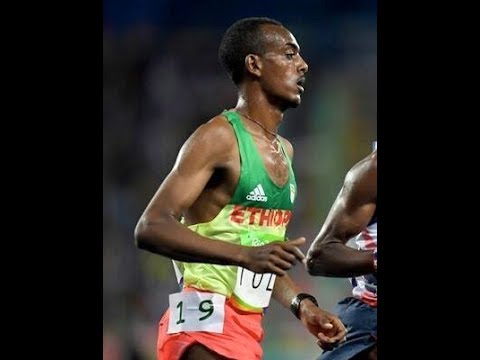 Interview With Athelet Tamirat Tola  2017 London Marathon Silver medalist