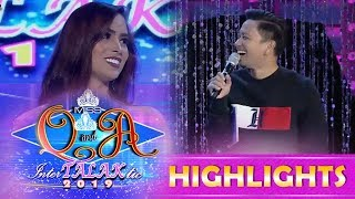 It's Showtime Miss Q and A: Jhong notices that one of the candidates looks like Kim Domingo