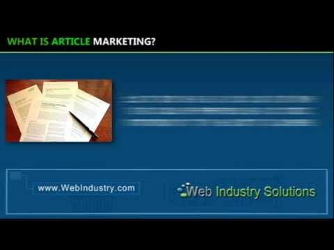0 What is article marketing