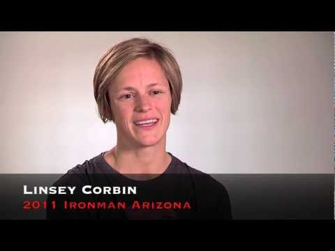 Linsey Corbin, Racing 2011 Ironman Arizona