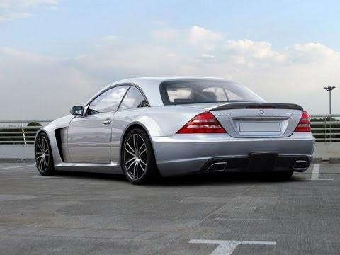 mercedes cl w215 tuning black edition body kit youtube. Black Bedroom Furniture Sets. Home Design Ideas