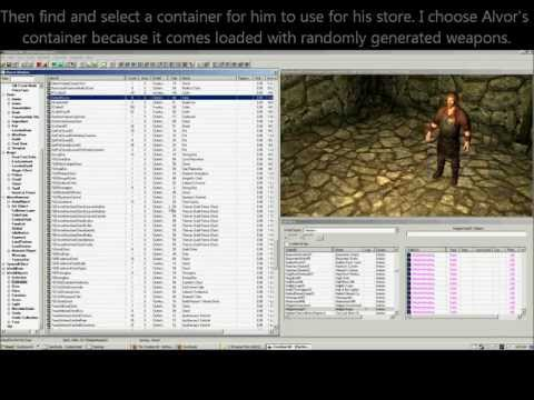Skyrim Creation Kit Tutorial: Creating a Merchant NPC