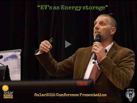 Solar 2015   Electric vehicles and energy storage