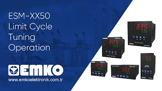 Emko Elektronik ESM-XX50 Limit Cycle Tuning Operation