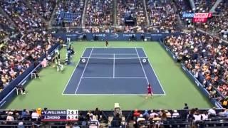 US Open 2013 2nd round Venus Williams USA) Zheng Jie (CHN) [x man000]