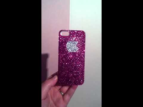 Bling Large Apple Logo iPhone case