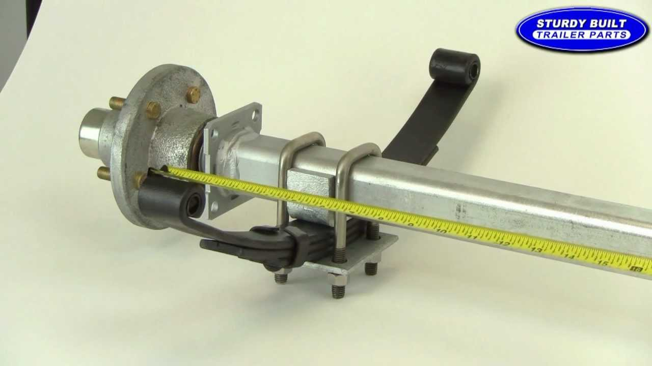 Boat Trailer Axles : Blk how to make a boat trailer axle
