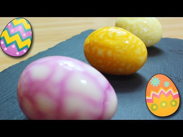 How To Make Easter Marble Eggs