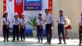 """THCS Phước Thể - Đố vui """"hại não"""", dịp Khai giảng 5/9/2016"""