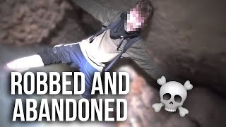 ROBBED AND ABANDONED IN THE PARIS CATACOMBS