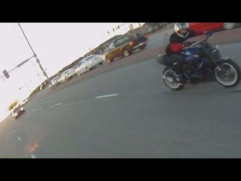 Bikes Running From Cops Motorcycle Wheelies Running