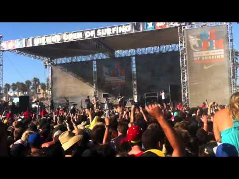 MGMT Weekend Wars First Song US Open of Surfing HD Huntington Beach, CA