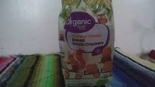 Great Value Organic Baked Snack Crackers, Product Review