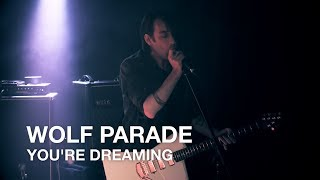 Wolf Parade You 39 Re Dreaming First Play Live