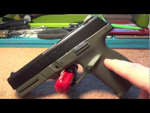 Smith and Wesson Sigma 9mm with OD Green & Graphit black Cerakote