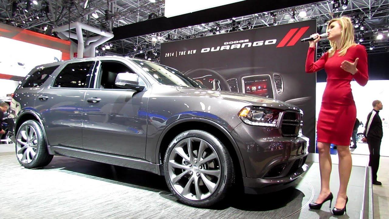 Dodge Durango Citadel >> 2014 Dodge Durango R/T Presentation - 2013 New York Auto Show - YouTube