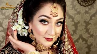 pakistani bridal makeover (my work on white skin tone )