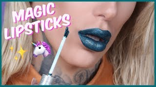 MAGIC GLITTER TRANSFORMING LIQUID LIPSTICK... Is It Jeffree Star Approved?