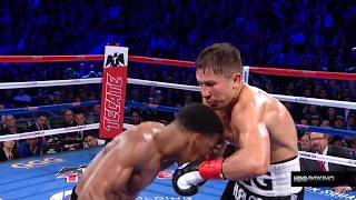 THE IRON CHIN OF GENNADY GOLOVKIN (Clean Hits to GGG in his most significant fights)