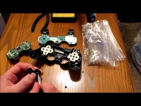 PS3 Controller PS Button LED Mod - Part 1