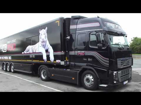 Volvo Fh16 750 Interior >> Volvo FH16-750 UK First Look! - YouTube