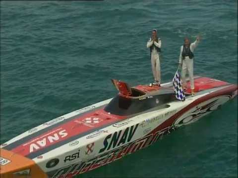 Pierre Colpin - Powerboat P1 - 2009 WC - San Benedetto Del Tronto, Italy. (Part 2).VOB