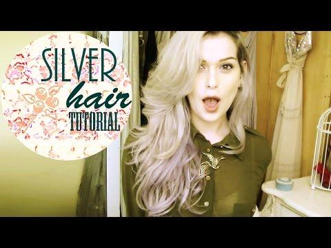 HOW TO GET SILVER HAIR - DIY TONER / DYE