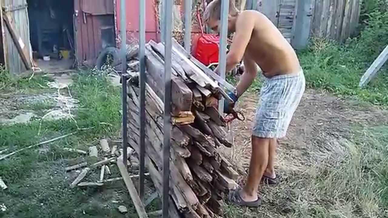 Бензопила для дров своими руками 317
