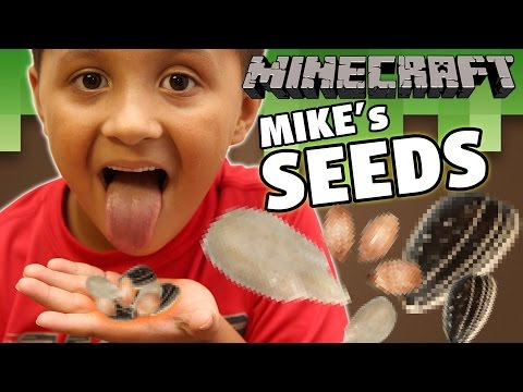 Mikes Minecraft Seed MISTAKE, Seed Jackpot? + Dad & Son Diamond Dig Race