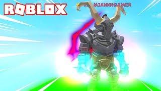 EL CABALLERO de la MUERTE!!! ? Roblox Super Power Training Simulator